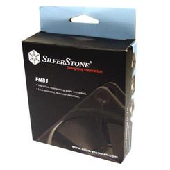 Silverstone SST-FN81 80X80X25mm Low Acoustic Thermal Fan, 3Pin