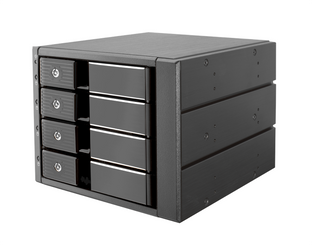 Kingwin MKS-435TL 4xSATA HDD to 3X5.25inch Bay Trayless Hot Swap Rack
