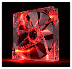 Thermaltake CL-F027-PL14RE-A Pure 14 LED Red 140x140x25mm Fan