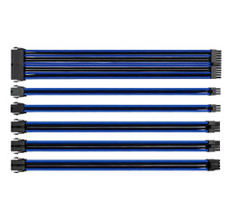 Thermaltake AC-035-CN1NAN-A1 TtMod Sleeve Cable Set – Blue/Black