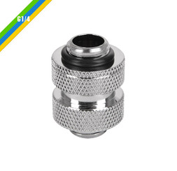 Thermaltake  CL-W067-CU00SL-A Pacific Pacific G1/4 Adjustable Fitting (20-25mm) – Chrome