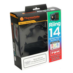 Thermaltake CL-F043-PL14SW-A Riing 14 RGB  140mm RGB LED Fan (Single Pack)