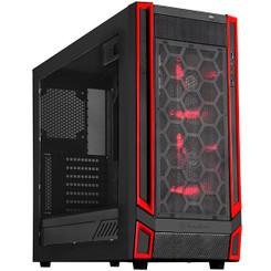 Silverstone SST-RL05BR-W ATX/MATX 5 Bay 140mm LED Fan Case