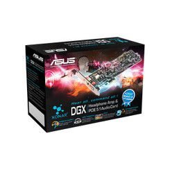 Asus XONAR DGX  5.1 Channel PCI Express Gaming Sound Card