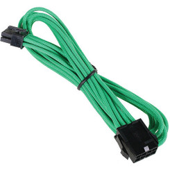 Bitfenix BFA-MSC-8EPS45GK-RP Alchemy Multisleeved 45cm 8Pin EPS Male to 8Pin EPS Female CPU Extension Cable (Green)