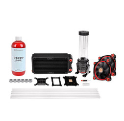 Thermaltake CL-W128-CA12RE-A Pacific RL240 D5 Hard Tube Water Cooling Kit