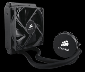CORSAIR CW-9060010-WW Hydro Series H55 120mm Fan Radiator Water  CPU Cooler
