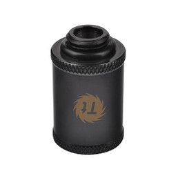 Thermaltake CL-W047-CU00BL-A Pacific G1/4 Female to Male 30mm Extender – Black