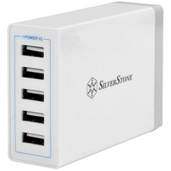 Silverstone SST-UC01W 40W 8A 5 Port USB Wall Charger