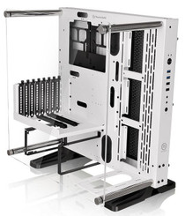 Thermaltake CA-1G4-00M6WN-02 Core P3 SE Snow Edition ATX Wall-Mount Chassis