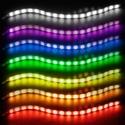 Silverstone SST-LS02 18 RGB LED Flexible Light Strip (2 Strips)