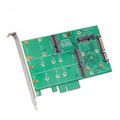 SYBA SY-ADA40103 3.5inch SATA III to m.2 / mSATA SSD RAID Adapter