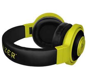 Razer RZ04-01400200-R3U1 Kraken - Analog Music & Gaming Headphones - Stereo - Neon Yellow