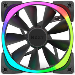 NZXT RF-AR120-T1 Aer RGB120 Triple Pack 120mm Digitally Controlled RGB LED Fans for HUE+