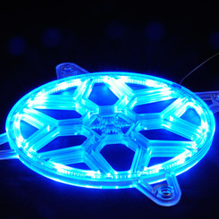 Silverstone SST-FG141  28 pcs RGB LED Strip Plastic 140mm Fan Grille