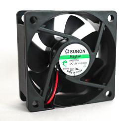 Sunon HA60251V4 60x60x25mm 12V MagLev Vapo Fan, 2 Wire/3Pin
