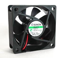 Sunon HA60251V4 60x60x25mm 12V MagLev Vapo Fan, 2 Wire/3Pin