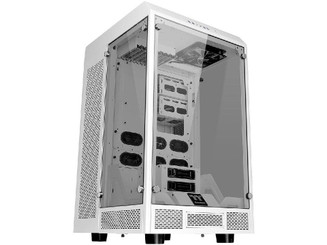 Thermaltake CA-1H1-00F6WN-00 Tower 900 Snow Edition E-ATX Vertical Super Tower Chassis