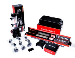 Thermaltake CL-W119-CA12RE-A PACIFIC REEF 240 Performer- PETG Hard Tube Starter Kit