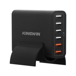 Kingwin PS-7343  6 Port USB Charger (2 Quick Charge 2.0 Port)