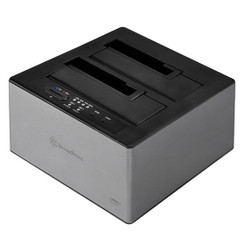 Silverstone SST-TS12C 3.5/2.5inch SATA SSD/HDD USB3.1 Dual Docking Station