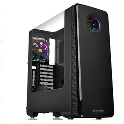 Thermaltake CA-1H2-00M1WN-01 View 28 RGB Riing Edition Gull-Wing Window ATX Mid-Tower Chassis