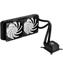 Silverstone SST-TD02-LITE-V2 (AM4) Dual 120mm PWM Fan All-In-One Liquid Cooling Kit