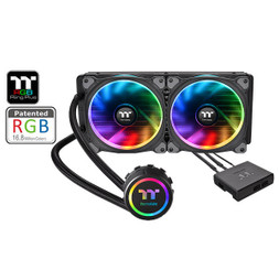 Thermaltake  CL-W157-PL12SW-A Floe Riing RGB 240 TT Premium Edition