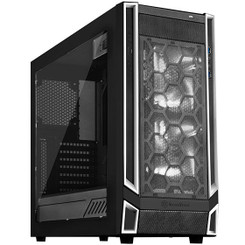 Silverstone SST-RL05BW-W (White Trim + Window) ATX/MATX Case  2x140mm LED Fan
