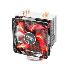 DEEPCOOL GAMMAXX 400 RED 120mm Fan Intel LGA2011 AMD AM4 CPU Cooler