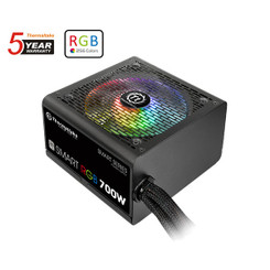 Thermaltake  PS-SPR-0700NHFAWU-1  Smart RGB 700W Power Supply