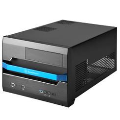 Silverstone SST-SG12B-V2 (black) Sugo Micro-ATX, Mini-DTX, Mini-ITX SFF Case