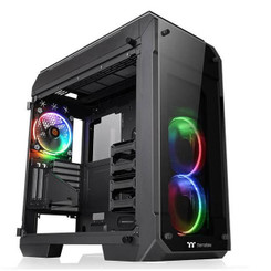 Thermaltake CA-1I7-00F1WN-01 View 71 Tempered Glass RGB Edition Full Tower Chassis