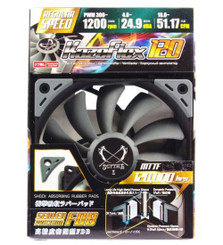 Scythe SU1225FD12M-RHP (1200RPM) Kaze Flex 120 PWM 120x120x27mm PWM Case Fan