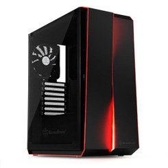 Silverstone SST-RL07B-G  (Black + Tempered Glass Window) ATX/MATX Case