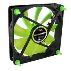Gelid Gamer 120x25mm Case Fan Wing 12 UV Green