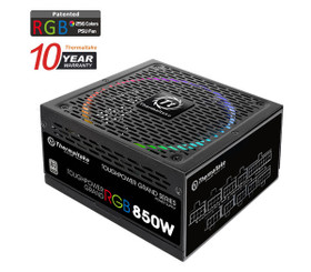 Thermaltake  PS-TPG-0850F1FAPU-1  Toughpower Grand RGB 850W Platinum