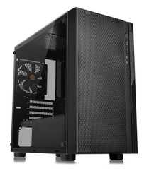Thermaltake CA-1J4-00S1WN-01  Versa H18 Tempered Glass Edition Micro Case