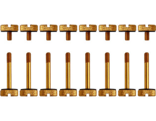 Corsair CC-8900104 Crystal Series 570X Gold, Anodized Aluminum Thumb Screw