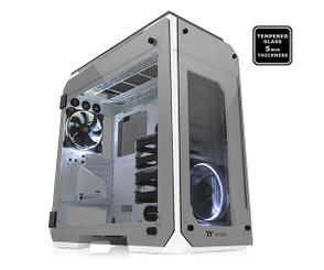 Thermaltake CA-1I7-00F6WN-00 View 71 Tempered Glass Snow Edition Full Tower Chassis
