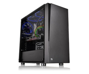 Thermaltake CA-1K1-00M1WN-00 Versa J21 Tempered Glass Edition Mid Tower Chassis