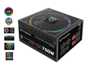 Thermaltake PS-TPG-0750FPCGUS-S Toughpower Grand RGB 750W Gold (RGB Sync Edition)