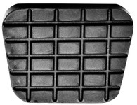 This brake/clutch pedal pad fits standard 1960-72 Chevrolet and GMC trucks.