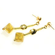 Antica Murrna Greta Earrings Bronze (Amber)