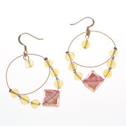 Antica Murrina Feeling Amber Earrings