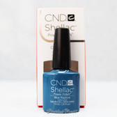 CND Shellac UV Gel Polish - BLUE RAPTURE 09953 7.3ml 0.25oz Fall Forbidden Color 2013 Collection