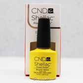 CND Shellac UV Gel Polish - BICYCLE YELLOW 90513 7.3ml 0.25oz Paradise Summer Color 2014 Collection