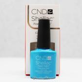 CND Shellac UV Gel Polish - CERULEAN SEA 90518 7.3ml 0.25oz Paradise Summer Color 2014 Collection