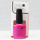 CND Shellac UV Gel Polish - FUTURE FUCHSIA 91170 7.3ml 0.25oz Art Vandal Spring Color 2016 Collection