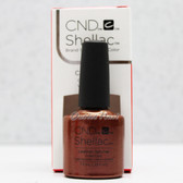 CND Shellac UV Gel Polish LEATHER SATCHEL 91253 7.3ml 0.25oz Craft Culture Fall Winter Color 2016 Collection